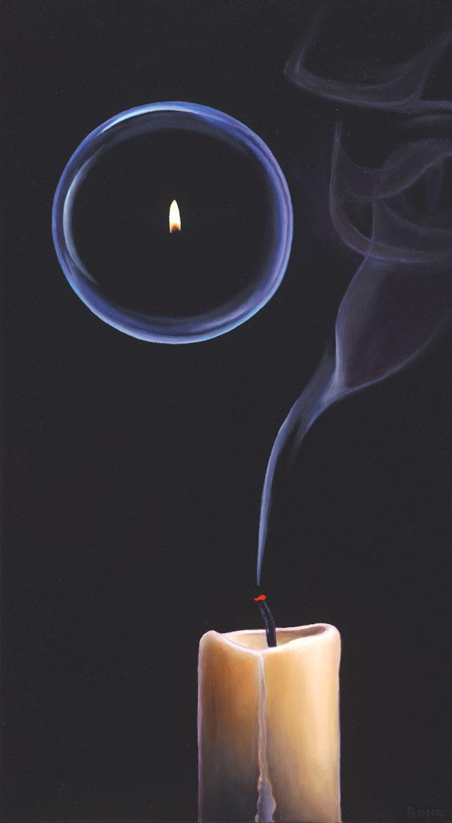 Oil Painting Of Smoke